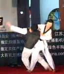 扬州美女大赛35进18才艺展示跆拳道